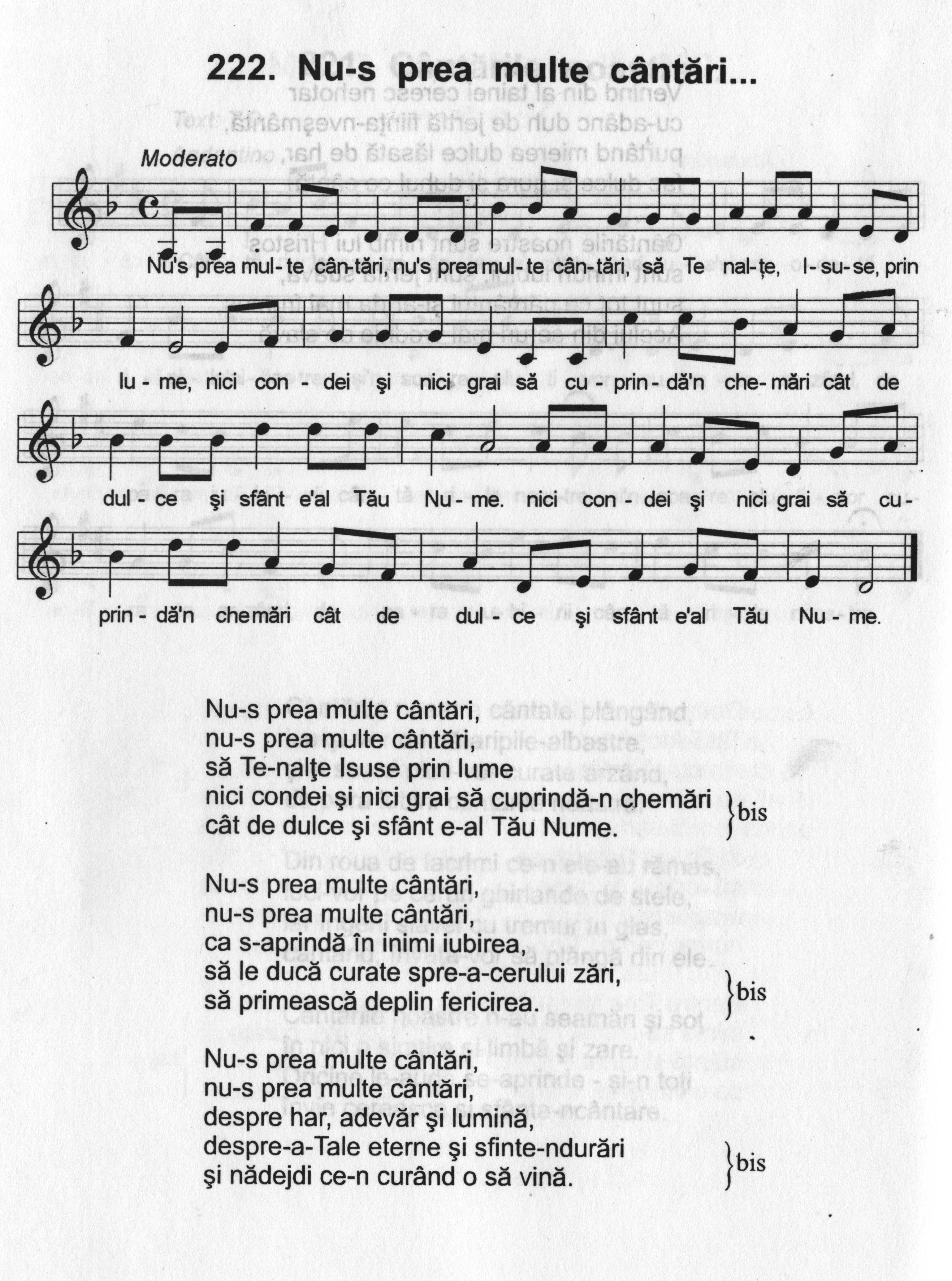 Cantari crestine baptiste