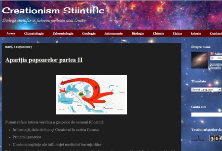 creationismstiintific