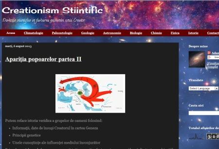 creationismstiintific