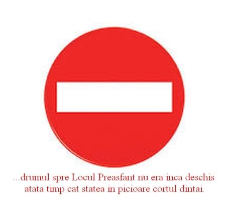 Accesul interzis