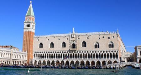 Palais des doges et Campanile à Venise - Italie