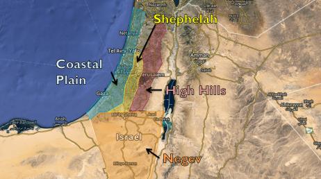 Holy-land-regions